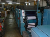 Used 4 colour Business Form Printing Machine ROTATEK RK 200