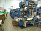 Used Business Form Printing Machine Harris Graphics, 3 colour offset