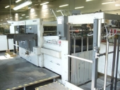 Used Die cutter BOBST SP 102 E Flatbed die cutting, Autoplaten