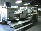 Used Hot foil stamping machine STEUER PZ 104,