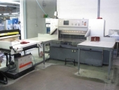 Used Cardboard and solid board cutter POLAR 115 - Guillotine