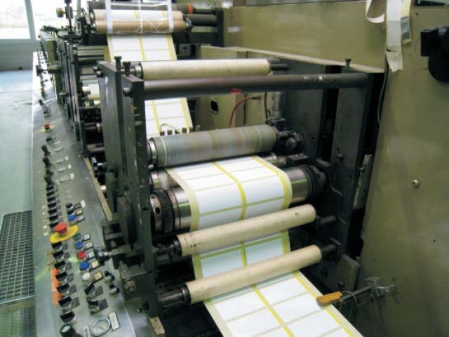 8 Colour Label Making And Printing Machine Aquaflex