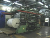 Used Large Blown film extrusion line W+H - Film width max: 3 m