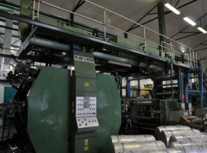 6 colour flexo printing machine UTECO RUBY roll to roll CI