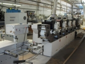Used Label making and printing machine Nilpeter B200-4