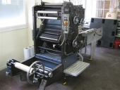 Used Web offset press ROTAGAZETTE 2 colour Newspaper printing