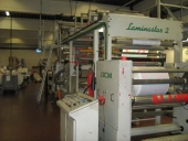 Used DCM Laminastar 2 LF Solventless laminator roll to roll