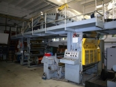 Used Laminator and Coater UTECO RAINBOW 502 solvent, 1320 mm width