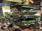 Used Flexo printing and laminating machine UTECO Coral 6 colour