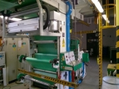 Used 6 colour flexo CI printing machine UTECO Coral 603 + Omnia 336D